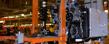 Automotive Material Handling Conveyor Systems